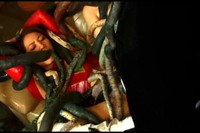 Japanese Heroine Assaulted By Tentacles