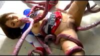 Violation Of Japanese Heroine By Tentacles