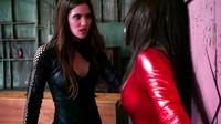 Brunette Heroine Versus Vigilante