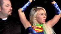 Purifying Sexy Blonde Super Girl
