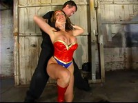 Wonder Gal CC Defeated Bound And Abused 1