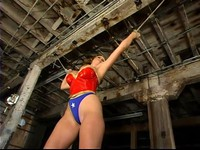 Wonder Gal CC Defeated Bound And Abused 2