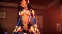 3D Animation Hard Cock In The Ass For D Va