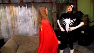 Supergirl Gives It To Spiderwoman