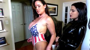 Busty Patriot Babe Captured By Villainess Part 1