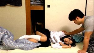 Japanese Schoolgirl Drugged By Her Friend
