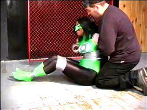 Ebony Green Lantern Held Prisoner