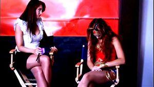 Interviewer Puts Heroine Into Hypnotic Trance
