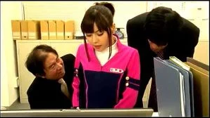 Japanese Police Woman Workplace Assault