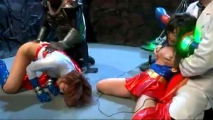Japanese Power Girl And Super Girls Brutal Humiliation