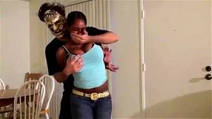 Villain Chloroforms Ebony Babe 1