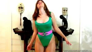 Busty Superheroine Submits To Villain