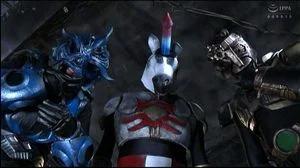GTRL 62 Japanese Superheroine Pussy Pounded By Evil Unicorn Man