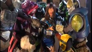 GIRO 27 Japanese Sentai Ranger Abused